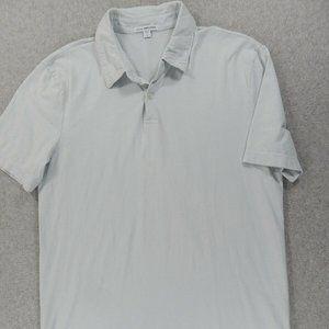 James Perse Standard Short Sleeve Polo Shirt
